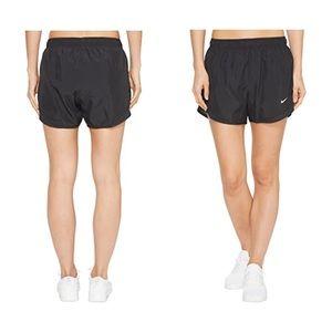 Nike Dri-Fit Tempo Black Lined Running Shorts